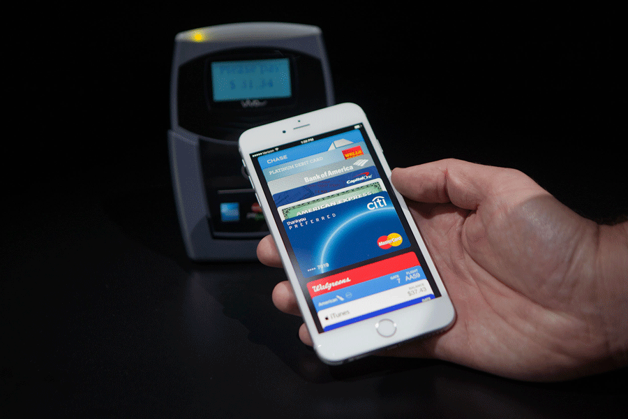 Apple pay allows users to make payments using the iPhone 6 or 6 Plus. Photo credit: Intelligence to Business