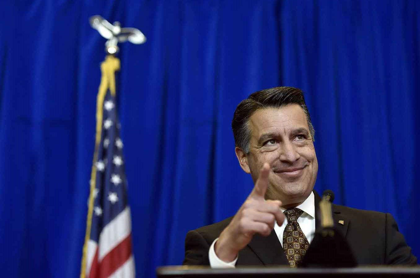 Obama administration is considering appointing Republican governor for Nevada and former federal judge, Brian Sandoval, as the candidate to fulfill the empty sit on the Supreme Court. Photo credit: David Becker / AP / NBC