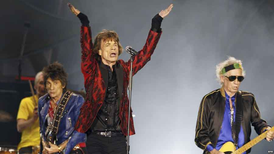 The Rolling Stones confirmed on their website that they will give a free open concert in Cuba on March 25. Photo credit: Marti Noticias