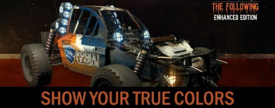 Players who own Dying Light: The Following will now be able to download a special skin for Rocket League's dune buggy. Photo credit: Sunslocker