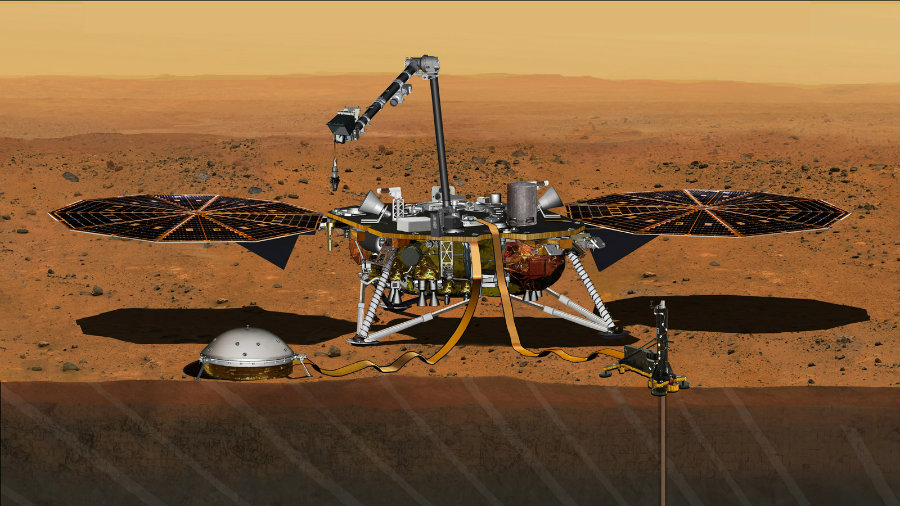NASA announced last week that the InSight mission to Mars will begin on May 5 next year. Photo credit: