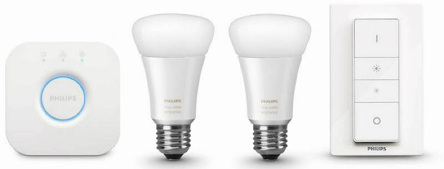 Philips (NYSE: PHG) presented on Monday Philips Hue white ambiance, a lighting system that changes light conditions depending on the moment. Photo credit: Brunch News