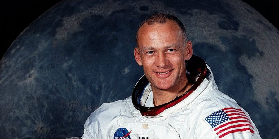 Buzz Aldrin is better known for being the second man to walk on the moon in the famous Apollo 11 mission. Photo credit: Blastr