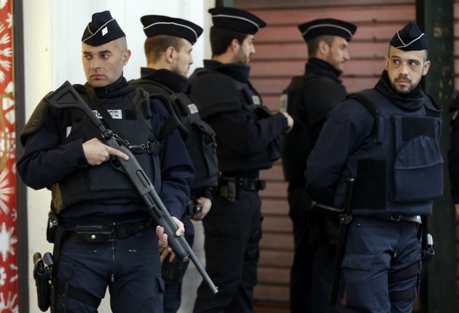 On Thursday, French security forces revived the deadly terrorist attacks from November 13 to avoid more and improve their response to similar situations. Photo credit: