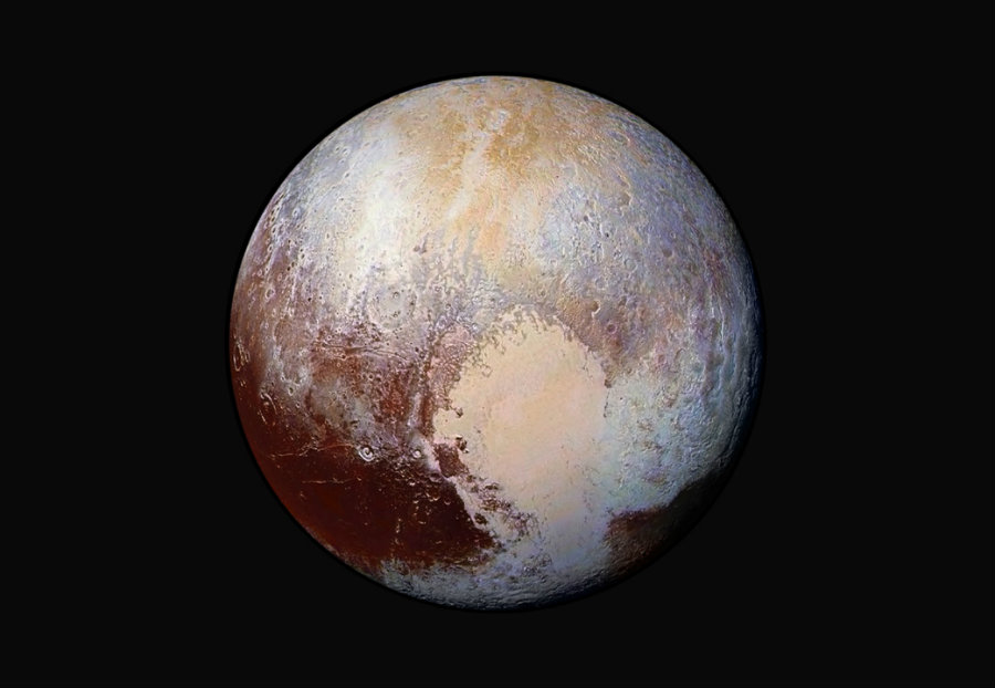 Eight months have passed since the New Horizons spacecraft went to visit the tiny planet Pluto. Photo credit: NASA