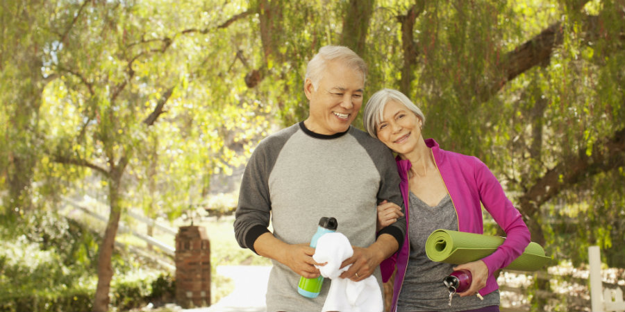 A recent study has proven that intense physical activity is able to slow brain aging as much as 10 years. Photo credit:
