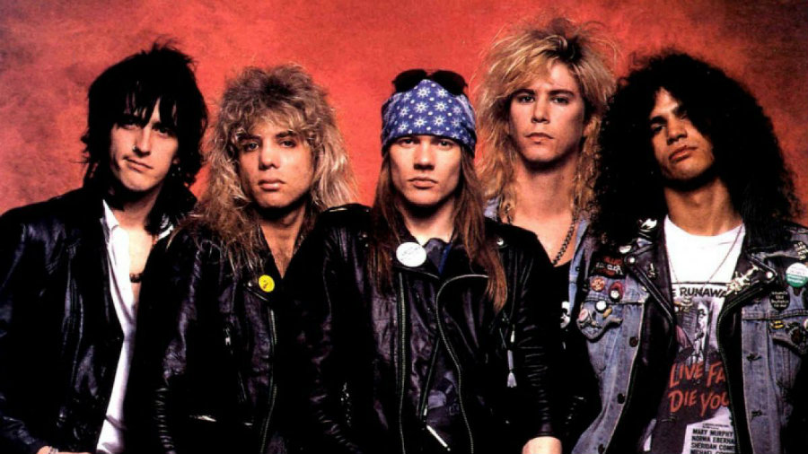 Guns N' Roses will go on tour this summer.  Photo credit: