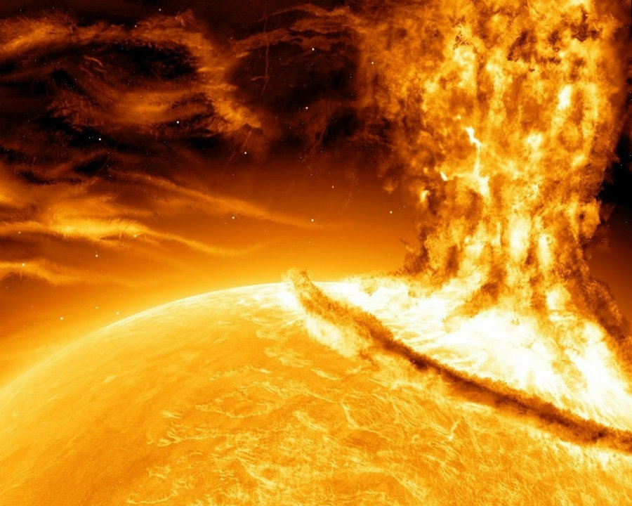 "It appears that our Sun could be capable of producing a ""superflare"", which is a mysterious phenomenon that was discovered by the Kepler space mission four years ago. Photo credit: Beyond Earthly Skies"