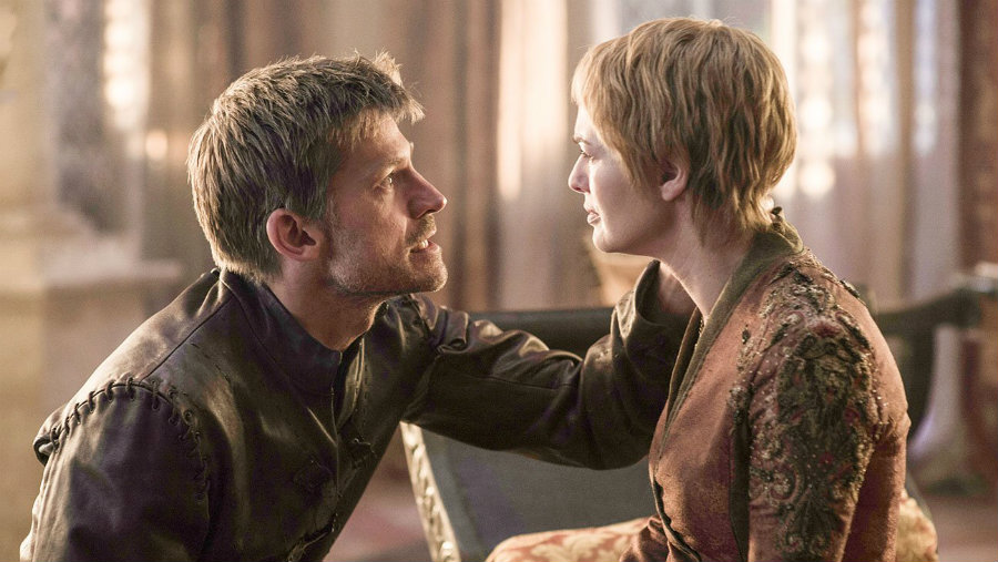 Cersei and Jamie's relationship. Photo credit: Game of Thrones Season 6 HBO / Independent