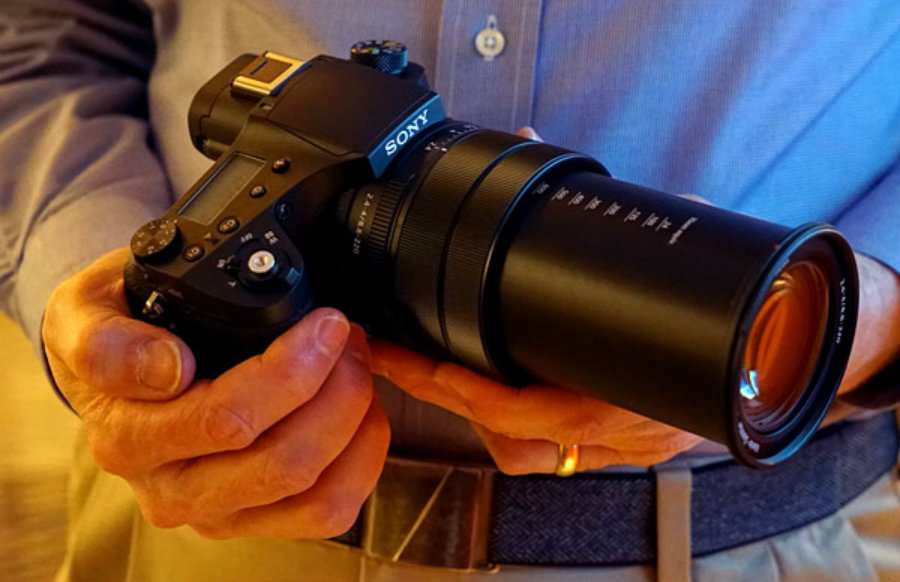 The RX10 III model offers users an extensive focal lens with, what the company calls, 25x super-telephoto zoom. Photo credit: Imaging Resource