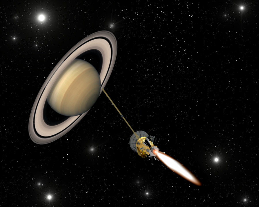 NASA's Cassini spacecraft will stop its live data transmission after its final mission after 19 years. Photo credit: esa.int