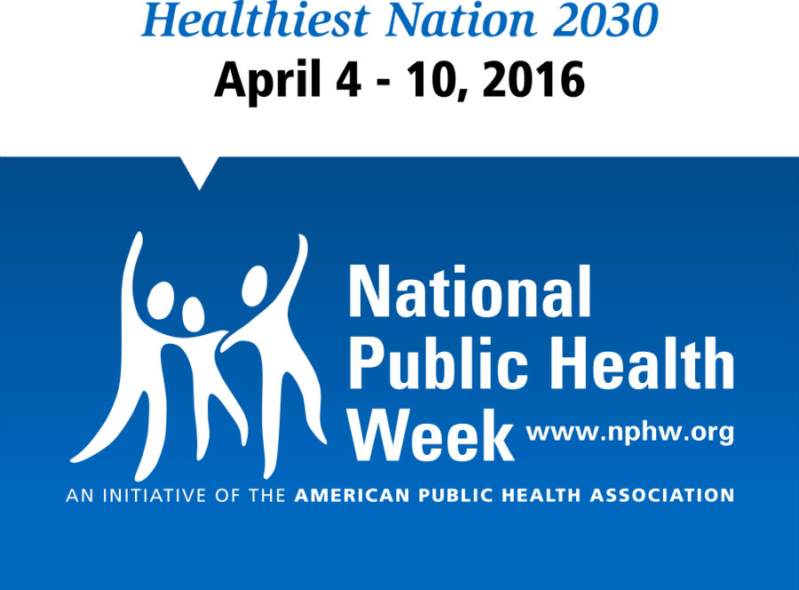 National Public Health Week (NPHW) started this week and it's all about teaching people how to have a healthier life. Photo credit: NPHW