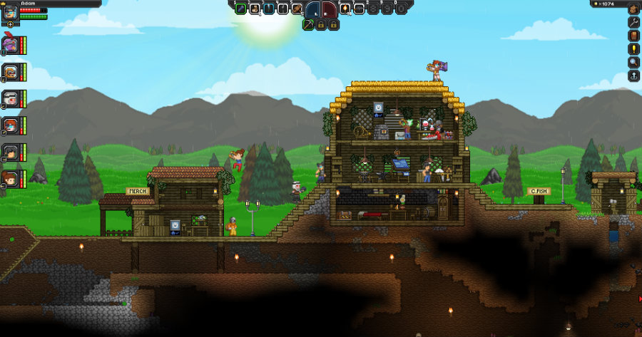 Chucklefish Games has finally announced that Starbound will be launched soon. Photo credit: Play Starbound