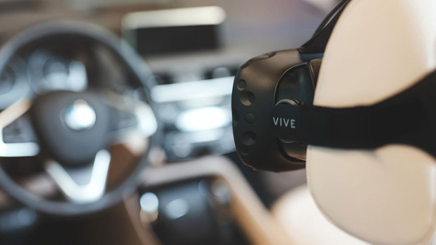 BMW and HTC Vive