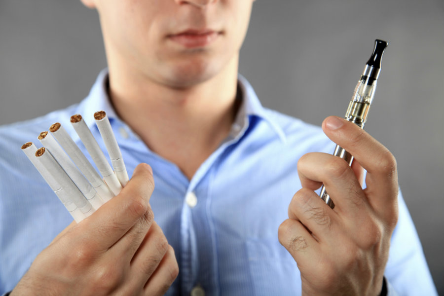 Smokers' assumption that e-cigarettes are a healthier option than common cigarettes may be completely wrong, according to recent studies. Photo credit: health.spectator.co.uk