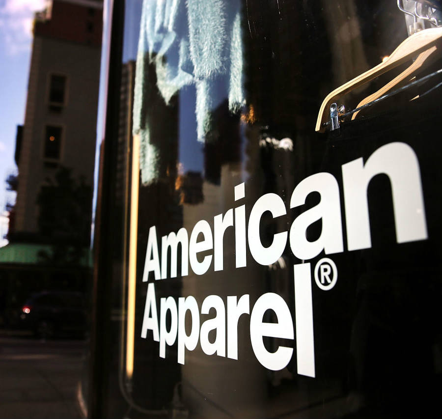 The famed retailer American Apparel has began the first of its many actions part of a restructuring plan approved in January after recovering from bankruptcy. Credit: Here&Now