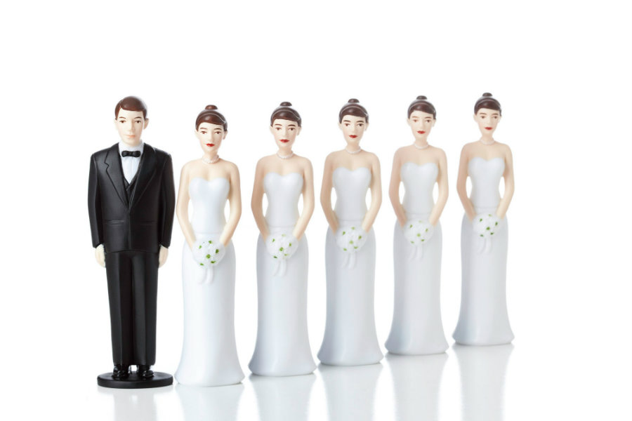 A group of researchers from Germany and Canada suggests that humans throughout their evolution might have changed from polygynous societies to monogamous ones because of  sexually transmitted infections. Photo credit: The Daily Beast