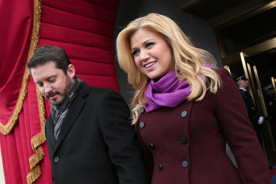 Kelly Clarkson and her husband, Brandon Blackstock, have welcomed their newborn son on Tuesday. Photo credit: UPI