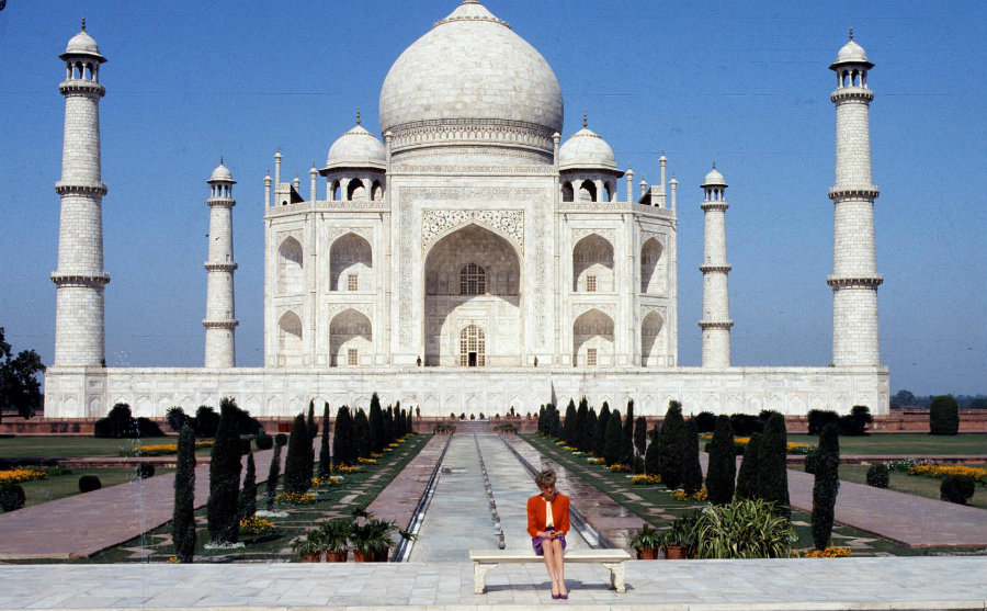 Princess Diana's visit to the Taj Mahal was not a particularly strong memory for prince. Photo credit: TIME