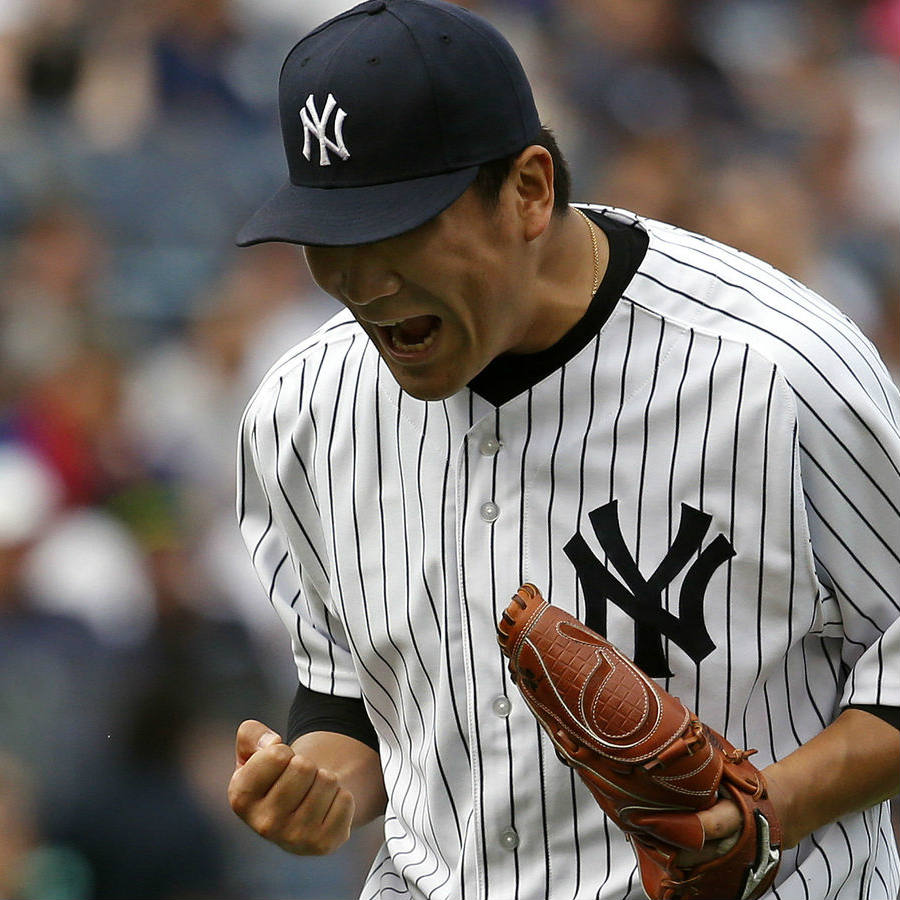 Masahiro Tanaka was able to perform seven innings in the game against the Mariners that brought the New York Yankees its first win since the past four games. Credit: MLB