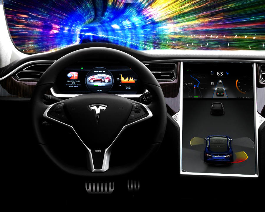 Tesla Motors could release a new feature to its Model S car called Autopilot Convenience Features, allowing customers to try its update for free for one month before having tp pay for it. Credit: TechNewsToday
