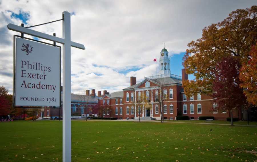 An elite New Hampshire boarding school named Phillips Exeter Academy, announced on April 16 that, due to unspecified new allegations of sexual misconducts that have surfaced since March 30 of this year. Photo credit: Jared Saulnier / Huffington Post