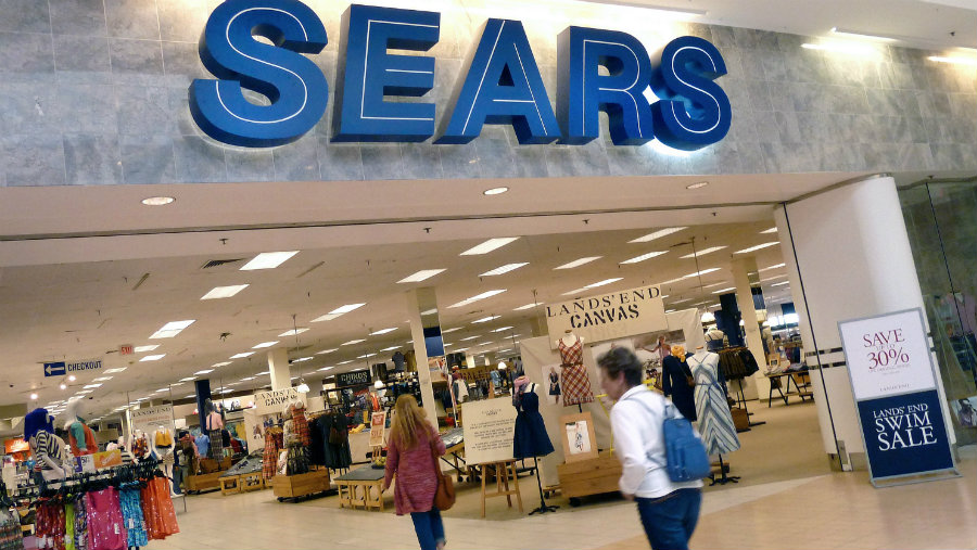 Sears Holding will close 68 Kmarts and 10 Sears stores in the next few months in the U.S. Photo credit: