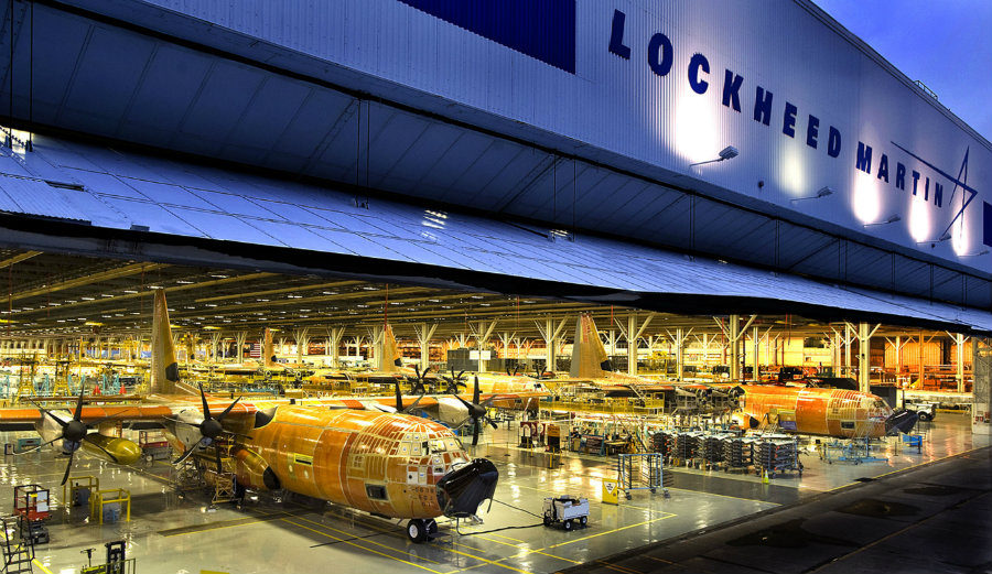 Lockheed Martin is letting go 200 employees from the IT team because of their alliance with Leidos. Photo credit: The Washington Times