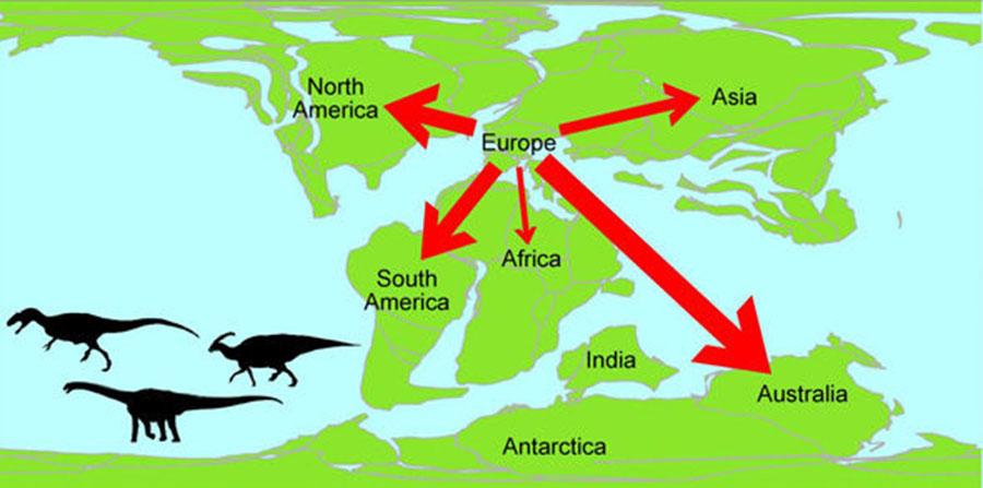 Dinosaur-migration-from-Europe