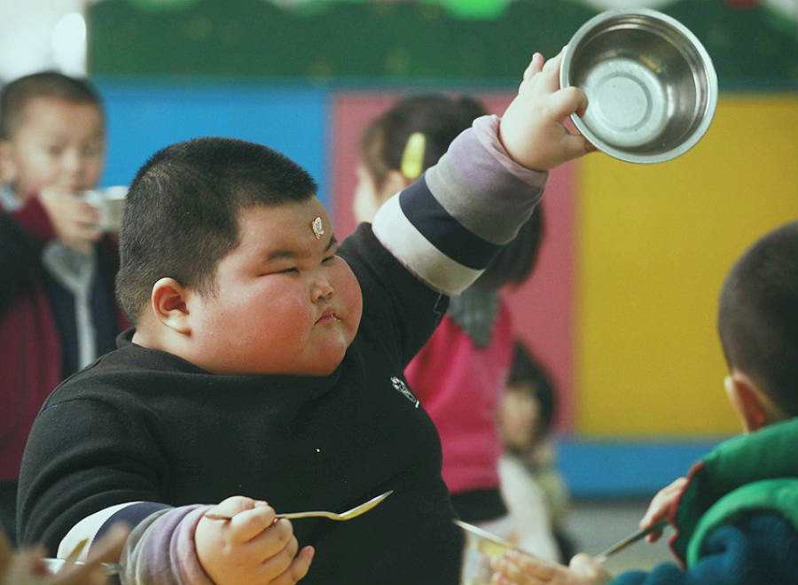 According to the study published in the European Journal of Preventive Cardiology, China has the second-largest number of obese people in the world behind only the United States. Credit: SCMP