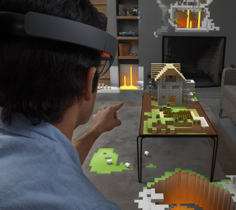 On this representation, the possibilities for the game to take place virtually anywhere is demonstrated. The introduction of VR Gear to Minecraft has a massive potential as well as several applications for more than entertainment. Credit: PC World