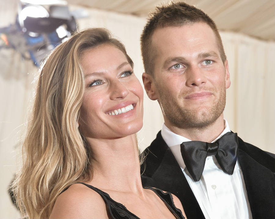 Gisele and Tom at an award ceremony this year, as seen above. With Gisele's husband legal situation and the reinstatement of his NFL suspension, Gisele claims it has brought them closer together amid rumors of their divorce. Credit: ET