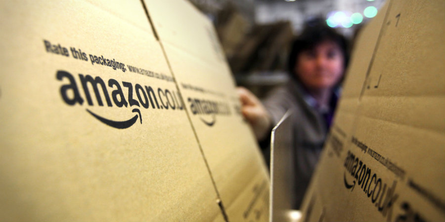 Amazon's shares reached $669.98 this Friday. Photo credit: AWD News