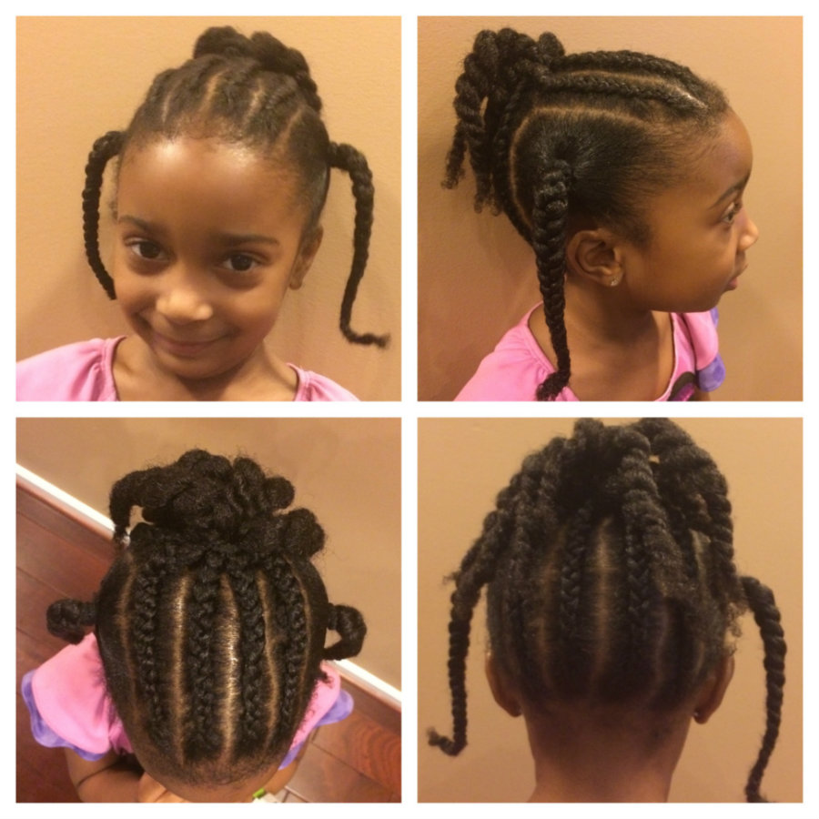 A new study claims that there is a strong association between hair loss and tight hair styles. Photo credit: The Parenting Buzz