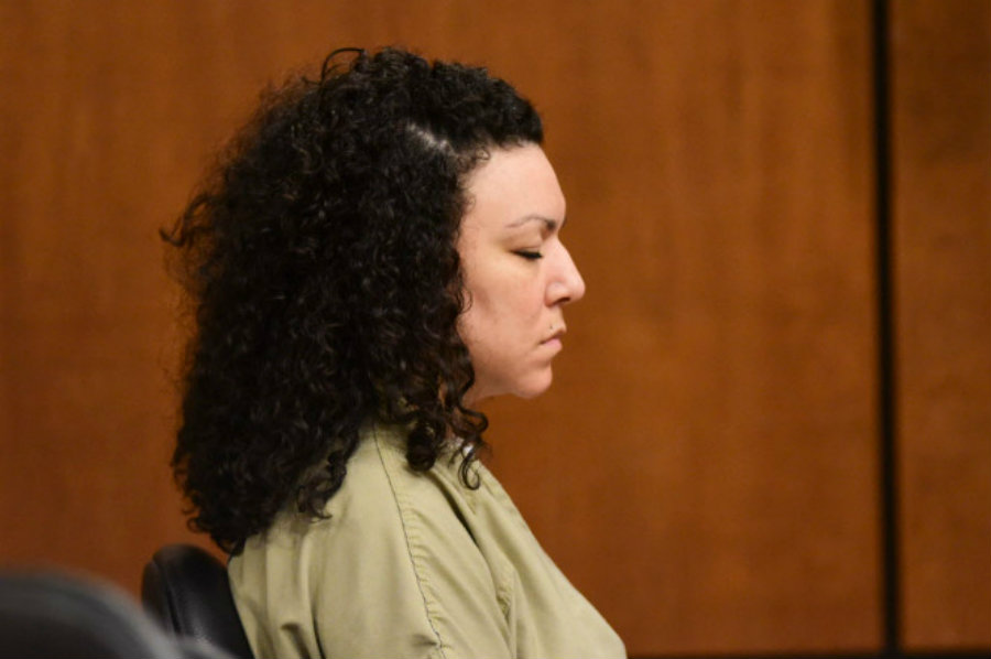 Dynel Lane, 36, was sentenced to 100 years in prison after attempting to rob a woman of her unborn 8-month baby. Photo credit: AP / New York Post