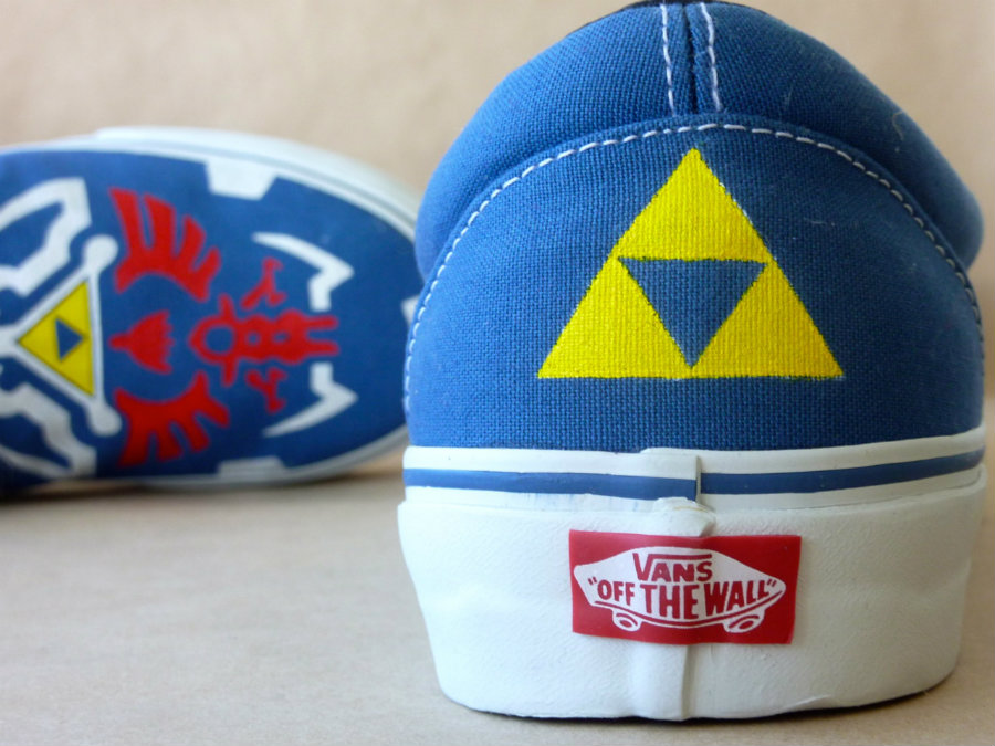 Vans will be working together with Nintendo to release a line of sneakers that will draw inspiration from some of the company's first-party franchises. (The Legend of Zelda). Photo credit: Tumblr