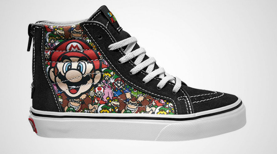 This limited-edition Nintendo shoe line will include sneakers inspired from the Nintendo Entertainment System, Super Mario, Donkey Kong, Duck Hunter, a Princess Peach model, and, of course, The Legend of Zelda. Photo credit: 43 Einhalb / Sole Collector