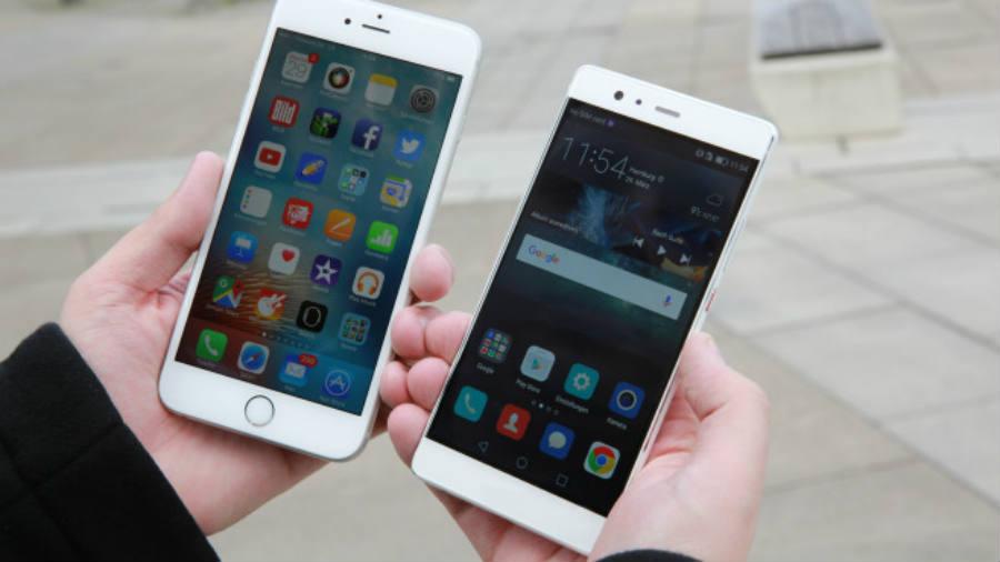Apple vs. Huawei