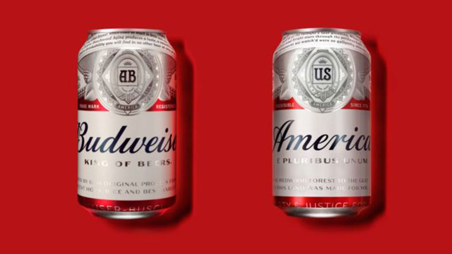 Budweiser gets new patriotic design