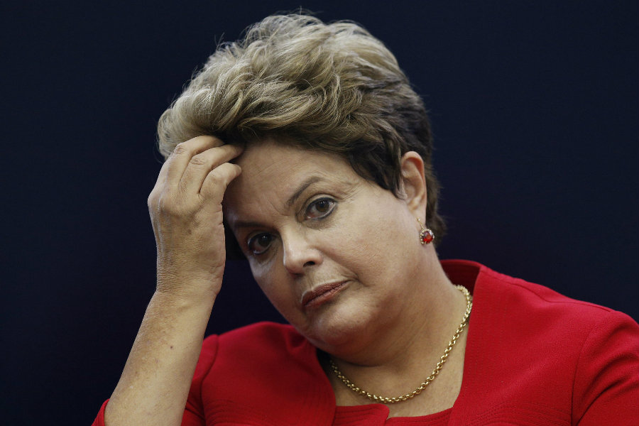 On Wednesday morning, Brazil's Senate started a very important session in which senators will vote whether to impeach President Dilma Rousseff. Photo credit: Caraota Digital