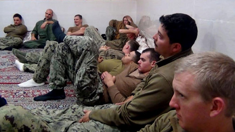 """Commander Eric Rasch was removed from his position in the US Navy by Capt. Gary Leigh due to a """"loss of confidence"""" regarding his performance at the arrest of 10 sailors in Iran. Photo credit: Fox News"""