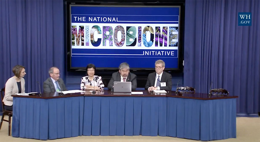 The White House launches National Microbiome Initiative