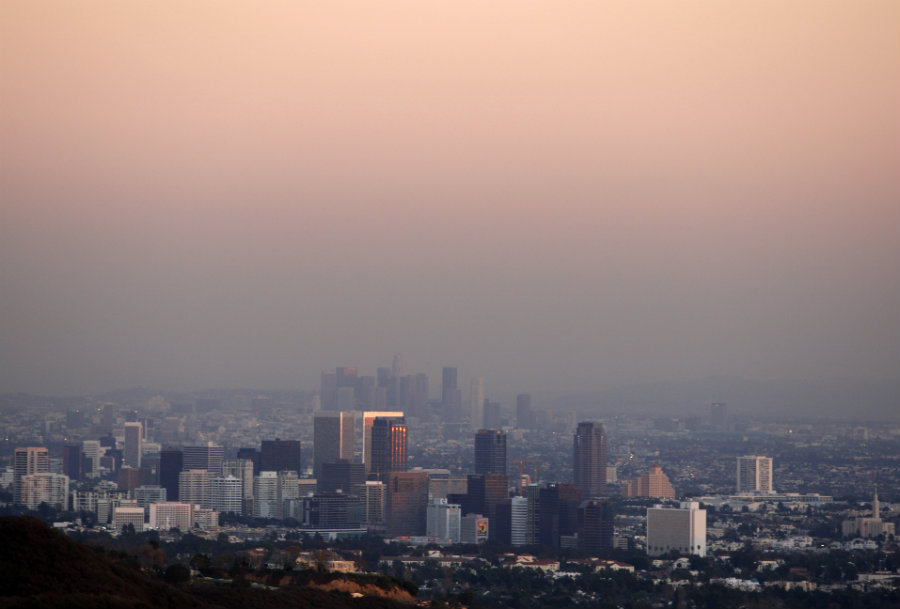 More than 80 percent of the people living in urban areas in low-income countries are exposed to unsafe levels of air pollution. Photo credit: Lucy Nicholson / Reuters