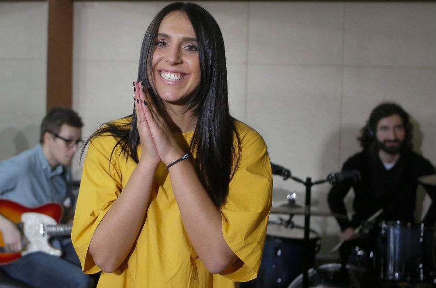 Susana Jamaladinova, a 32-year-old Ukrainian, won the 2016 Eurovision Song Contest on Saturday night. Photo credit: AP Photo / Sergei Chuzavkov