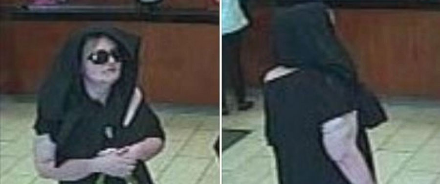 New Jersey woman suspect of robbing bank