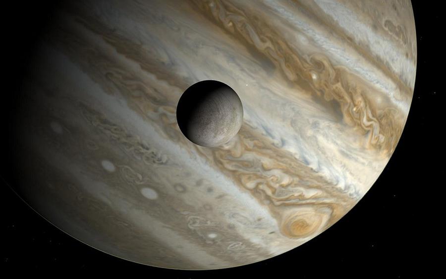 Jupiter-Europa-life