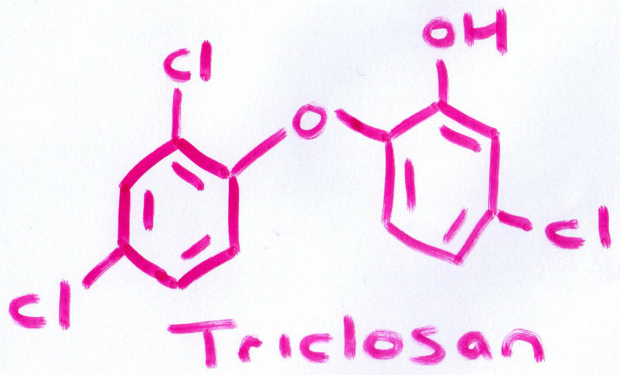 Triclosan is a component of many important antibacterial products, including mouthwash and toothpaste. Photo credit: Realize Beauty