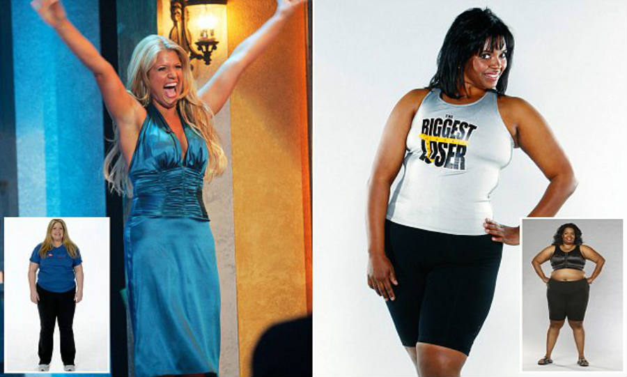 Participants of the American show The Biggest Loser made the use of drugs during the show public