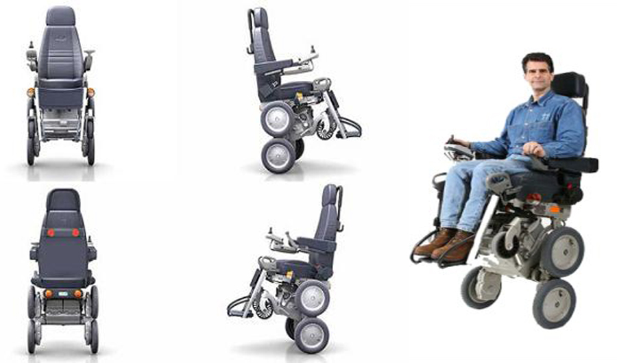 It's amazing to realize the IBOT wheelchair has been around for over a decade from the hands of Dean Kamen