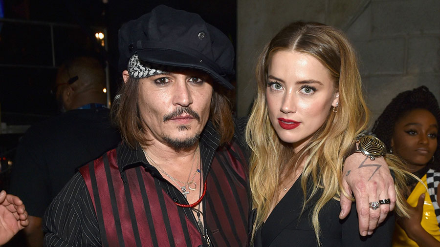 Johnny Depp and Amber Heard calling it quits